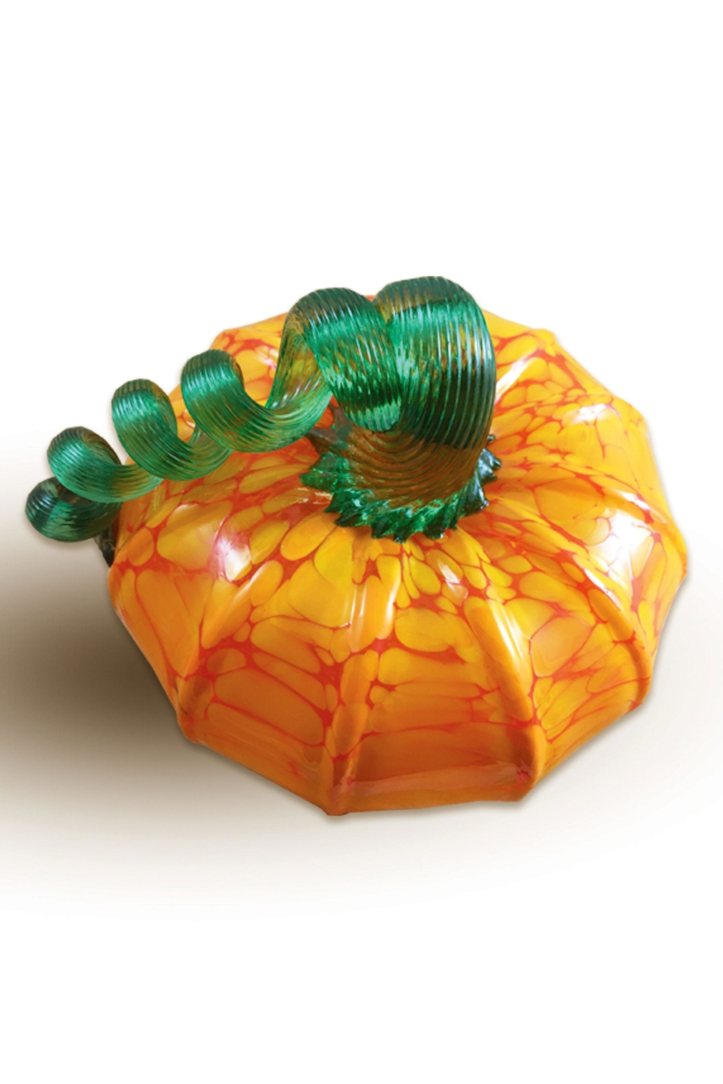 Luke Adams Glass Pumpkin Squat - Front Cropped Image