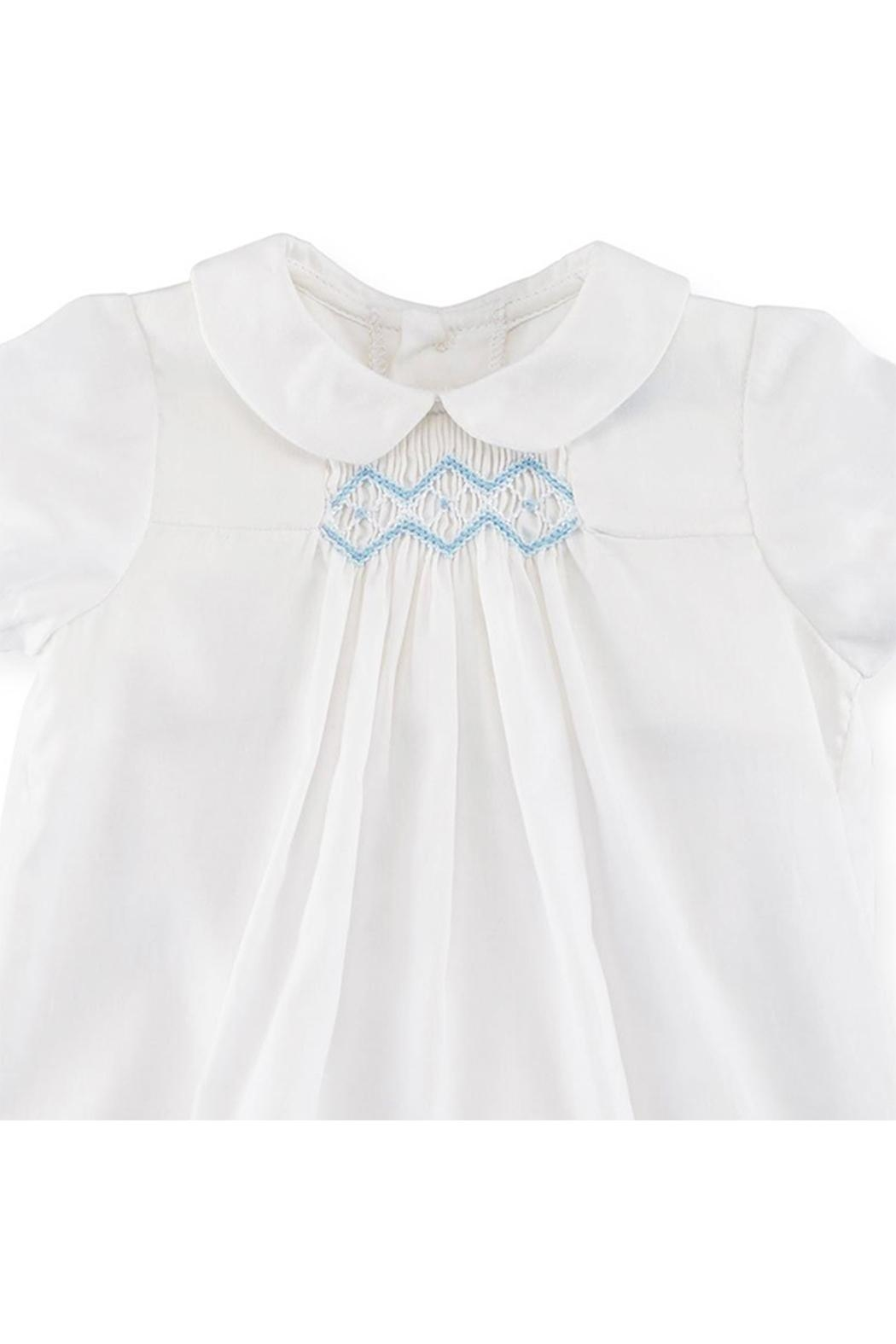 Luli & Me Embroidered Bubble Playsuit - Front Full Image