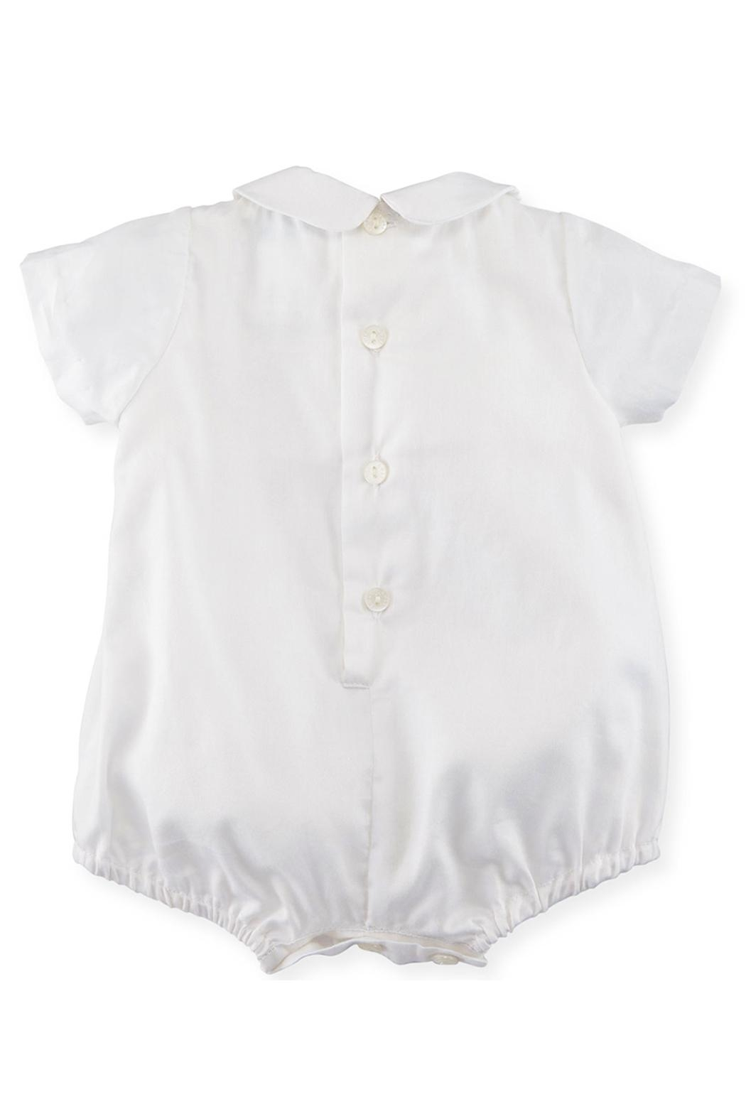 Luli & Me Embroidered Bubble Playsuit - Side Cropped Image