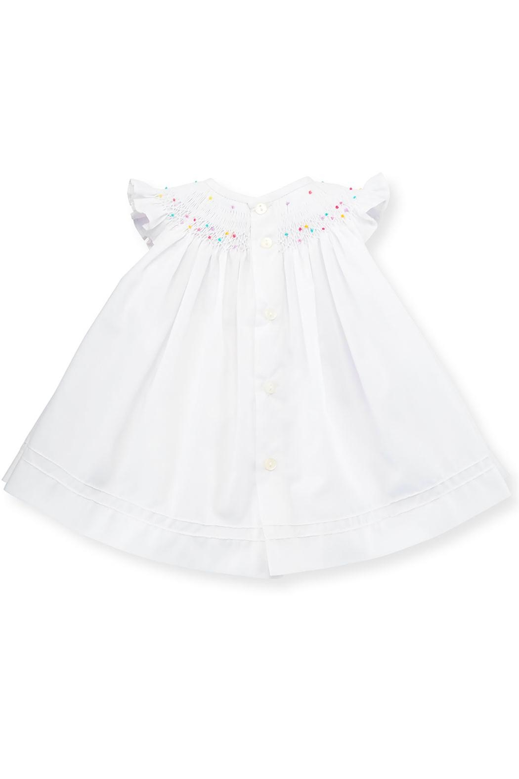 Luli & Me Embroidered Dress & Floral-Bloomers - Side Cropped Image