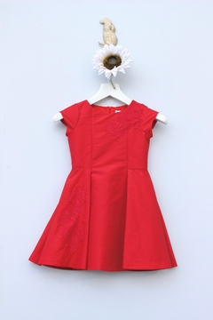 Luli & Me Holiday Lace Dress - Product List Image