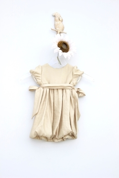 Luli & Me Gold Organza Dress - Product List Image
