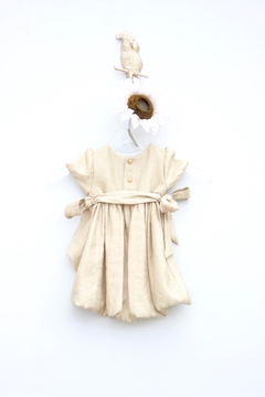 Luli & Me Gold Organza Dress - Alternate List Image