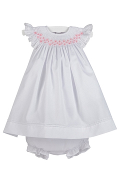 Luli & Me Smocked Bishop-Dress & Bloomers - Product List Image