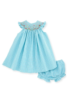 Luli & Me Turquoise Bishop & Bloomers - Product List Image