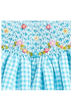 Luli & Me Turquoise Bishop & Bloomers - Alternate List Image