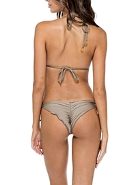 Luli Fama Braided-Seamless Bikini Top - Back cropped