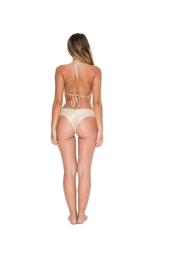Luli Fama Strappy-Brazillian Ruched-Back Bottoms - Alternate List Image