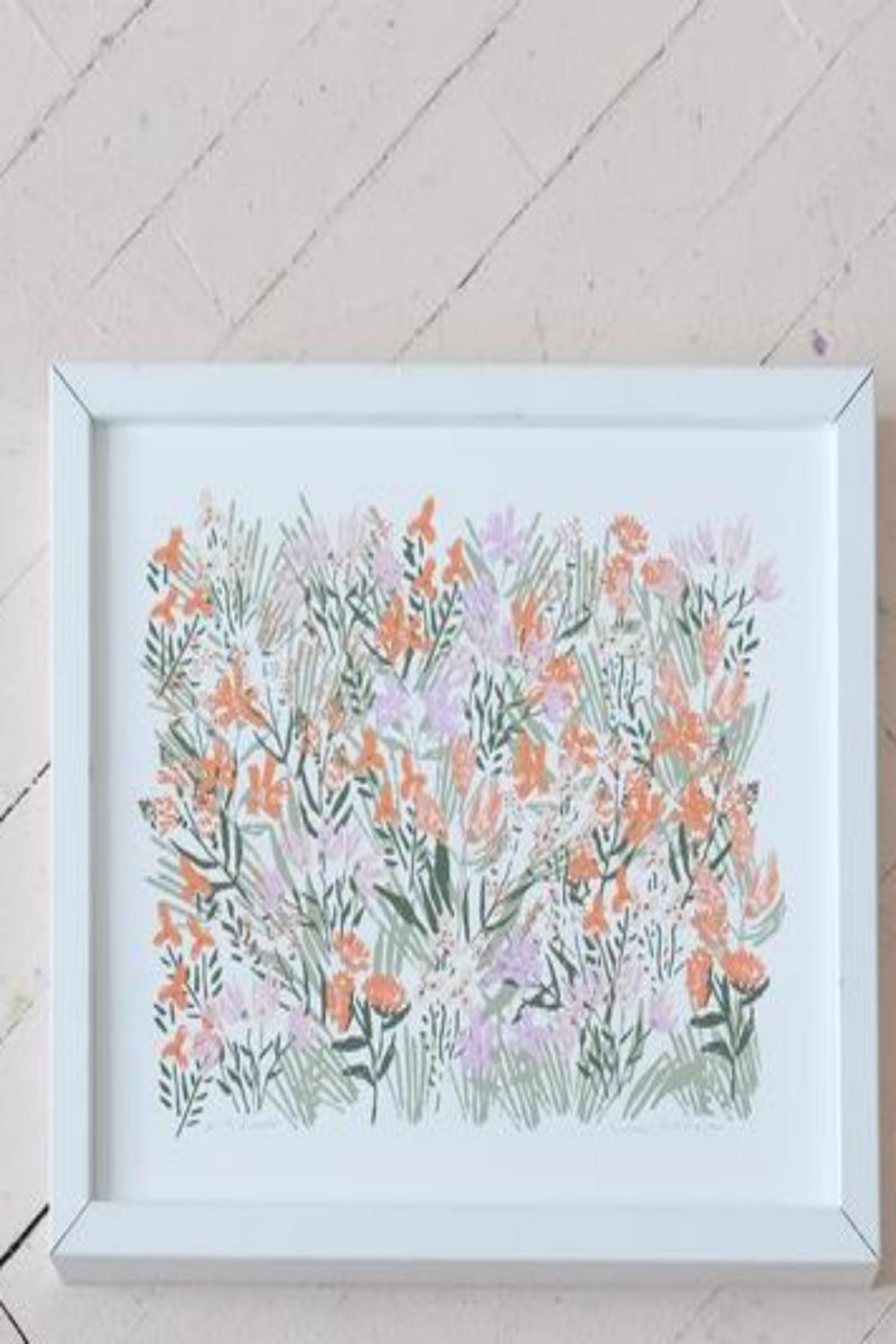 Lulie Wallace Spring Flower Print - Front Full Image