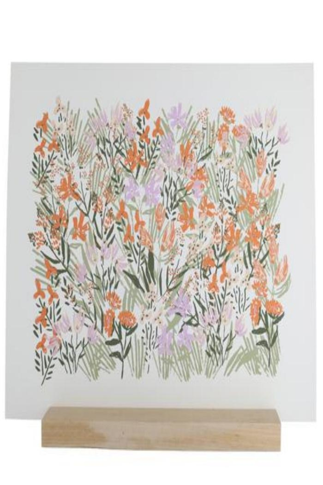 Lulie Wallace Spring Flower Print - Main Image