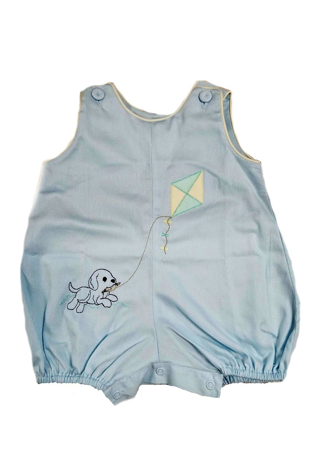 Lullaby Set Baby-Boy Puppy-Embroidery Bubble - Main Image