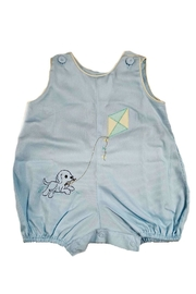 Lullaby Set Baby-Boy Puppy-Embroidery Bubble - Front cropped