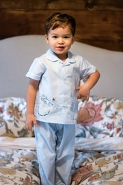 Lullaby Set The-Cow-Jumped-Over-The-Moon Loungewear - Front cropped