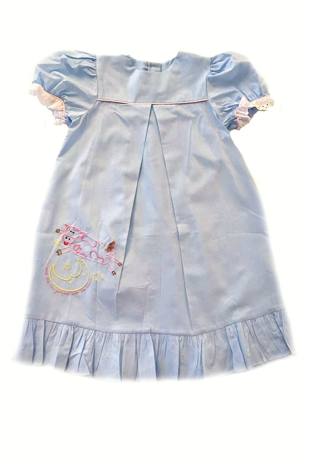 Lullaby Set The-Cow-Jumped-Over-The-Moon-Loungewear-Gown - Main Image