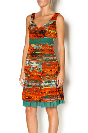 Lulu-H Layered Print Dress - Front cropped