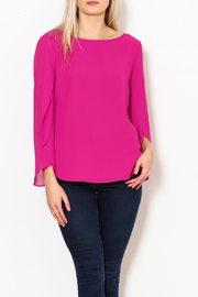 Single Lulu Open Sleeve Blouse - Product Mini Image