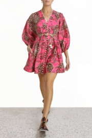Zimmermann Lulu Plunge Mini Dress - Product Mini Image