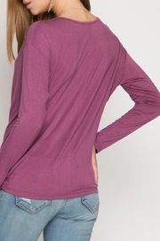 LuLu's Boutique Cowl Neck Top - Side cropped