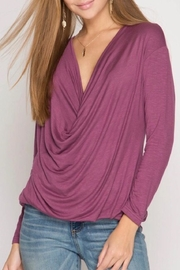 LuLu's Boutique Cowl Neck Top - Product Mini Image