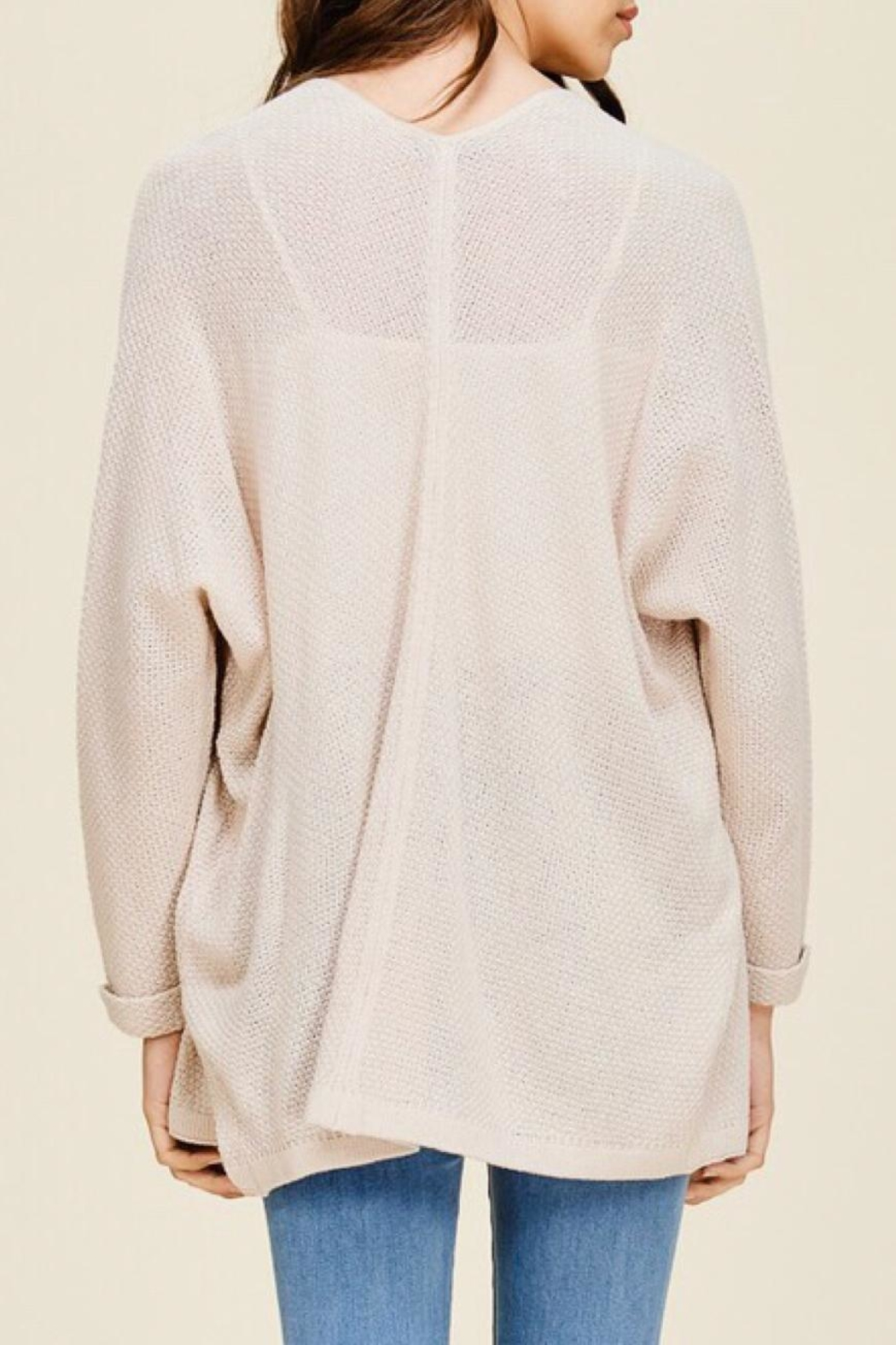 LuLu's Boutique Dolman Sleeve Cardigan - Side Cropped Image