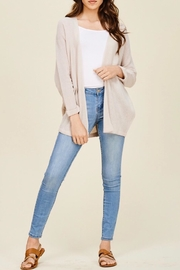 LuLu's Boutique Dolman Sleeve Cardigan - Back cropped