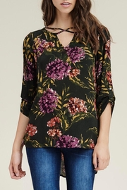 LuLu's Boutique Floral Blouse - Product Mini Image