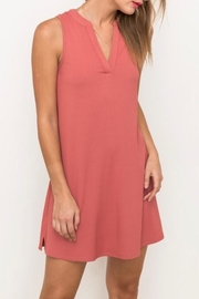 LuLu's Boutique Lace Back Dress - Front cropped