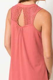LuLu's Boutique Lace Back Dress - Side cropped