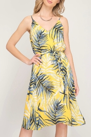 LuLu's Boutique Printed Dress - Front full body