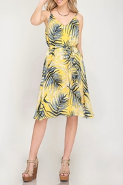 LuLu's Boutique Printed Dress - Front cropped