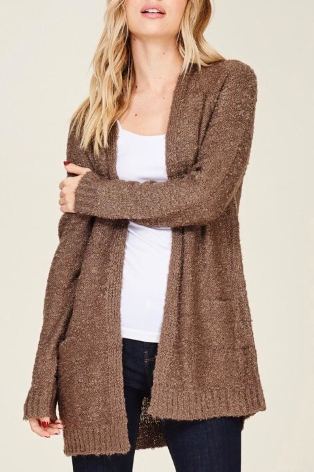 8f4a7143913 Staccato Bouclé Cardigan from Washington by LuLu's Boutique — Shoptiques