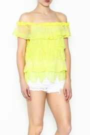 Lulumari Baby Doll Lace Top - Product Mini Image