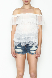 Lulumari Baby Doll Lace Top - Front full body