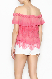 Lulumari Baby Doll Lace Top - Back cropped