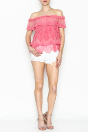 Lulumari Baby Doll Lace Top - Side cropped