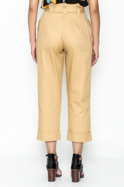 Lulumari Belted Trousers - Back cropped