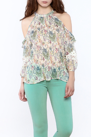 Shoptiques Product: Loose Printed Blouse - Front cropped