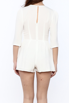 Shoptiques Product: White Embroidered Romper