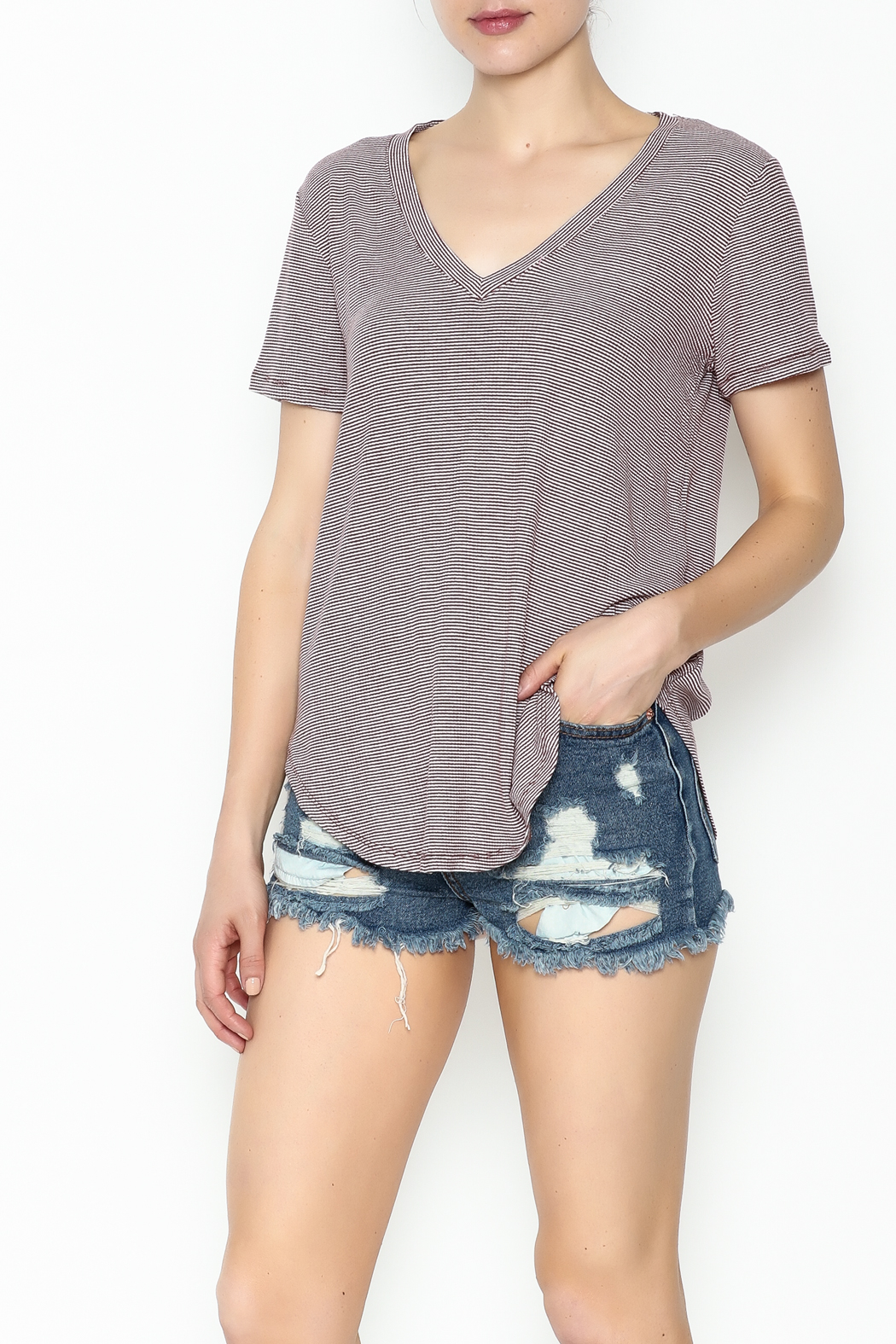 Lulumari Knit Top - Front Cropped Image