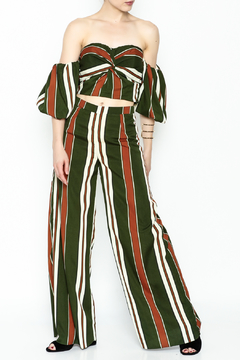 Shoptiques Product: Striped Pant Matching Set