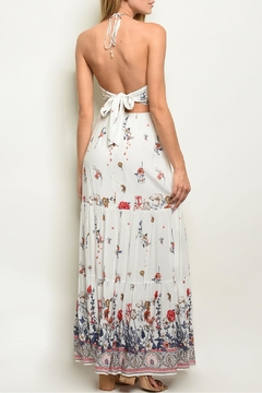 Lulumari White Floral Maxi - Alternate List Image