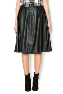 Lumiere Vegan Leather Skirt - Product List Image
