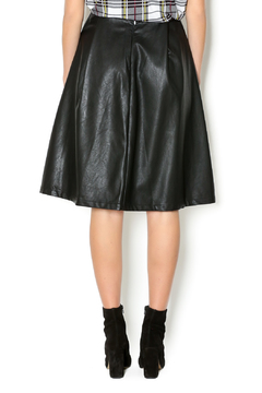 Lumiere Vegan Leather Skirt - Alternate List Image