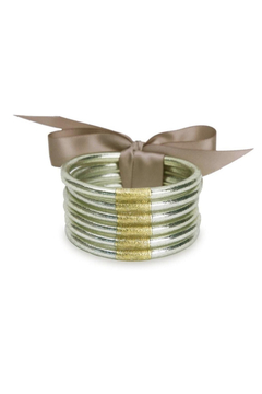 BuDhaGirl LUMIERE ALL WEATHER BANGLES-LARGE - Product List Image