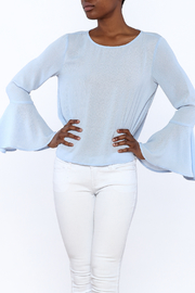 Lumiere Blue Long Sleeve Blouse - Product Mini Image