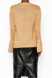 Lumiere Bell Sleeve Sweater - Back cropped