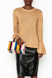 Lumiere Bell Sleeve Sweater - Front full body