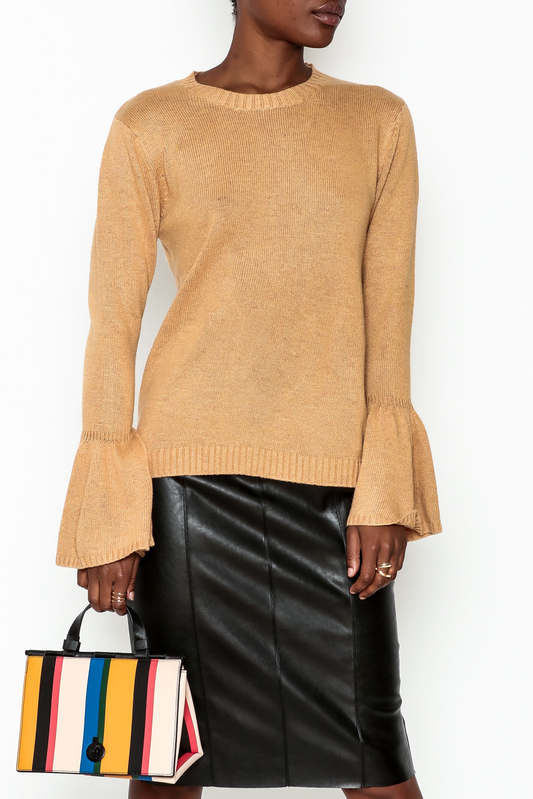Lumiere Bell Sleeve Sweater - Main Image