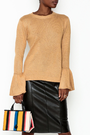Lumiere Bell Sleeve Sweater - Front cropped