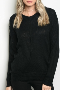 Lumiere Black Sweater - Product List Image